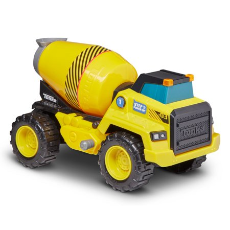Funrise Toys - Tonka Power Movers Cement Mixer
