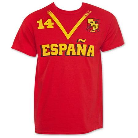 Spain Soccer Team World Cup Jersey Shirt