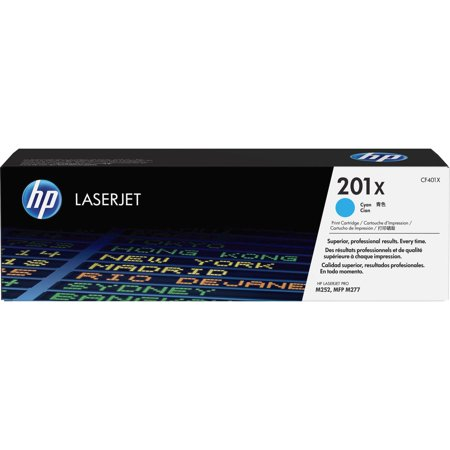 HP 201X (CF401X) Cyan High Yield Original LJ Toner Cartridge