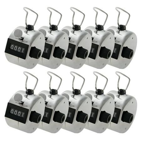 GOGO 100 Pcs Tally Counter, Metal Mechanical Counter, Lap Counter Bulk (Wholesale Lot)