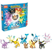 Mega Construx Pokemon Eevee Evolution Construction Set with character figures, Building Toys for Kids (470 Pieces)