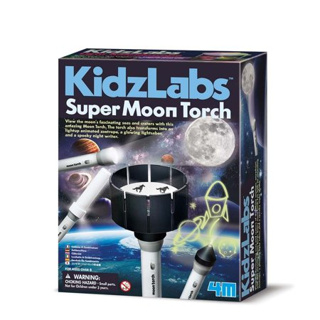 Super Moon Torch   Science Kit By Toysmith  4976