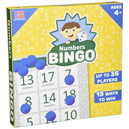 Numbers Bingo, Up to 36 Players by Pint-Size Scholars - image 1 of 1