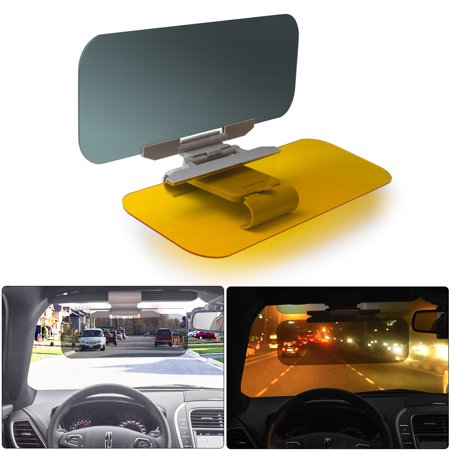 Car Anti-Glare Windshield Extender –2-in-1 Day and Night Anti-Dazzle Car  Visor Adjustable Universal Car Sun Visor - Walmart.com 61cf71ab06e