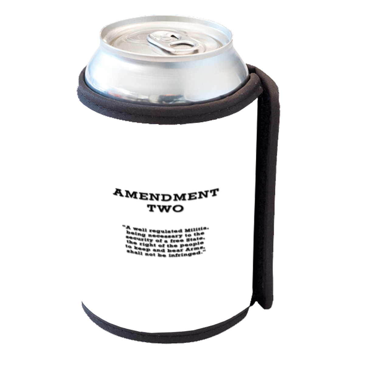 KuzmarK Insulated Drink Can Cooler Hugger - Amendment Two