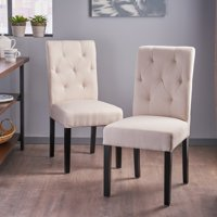 f6cff588b9c4 Product Image Christopher Knight Home Gentry Tufted Fabric Dining Chair (Set  of 2) by Ivory