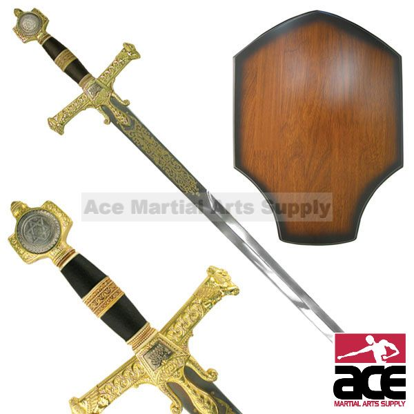 10th Century King Solomon Templar Sword