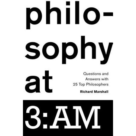 Philosophy at 3 : Am: Questions and Answers with 25 Top