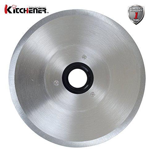 "New Kitchener 9"" Meat Slicer Blade Stainless Steel by Kitchener"