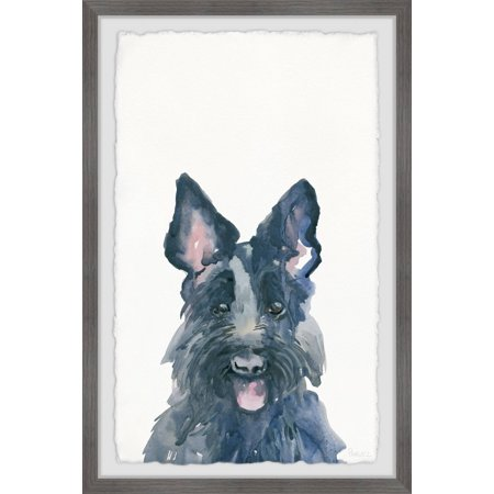 Parvez Taj Cute Irish Wolfhound Framed Wall Art