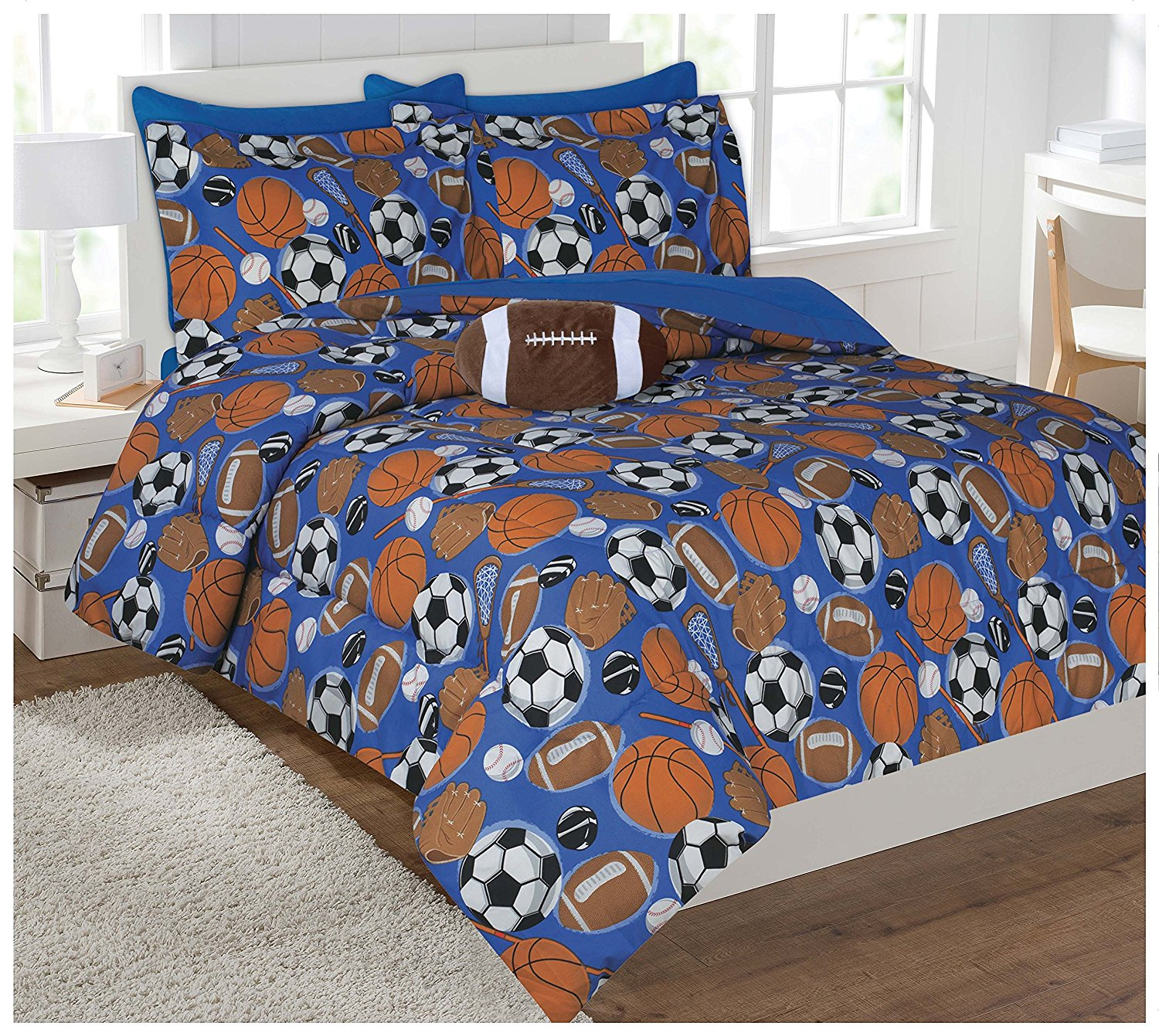Fancy Collection 6pc Twin Size Luxury Comforter Set Kids ...