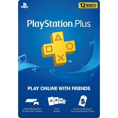 Sony - PSN Live Subscription Card 12 Month Membership for (Best Psn Games For Vita)