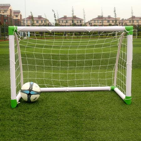 Ktaxon 4'(H) x 2.6' (w) Portable Football Goal - Soccer Goal Net Frame Quick Sport Training - Foot Ball Goal Post