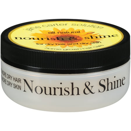 Jane Carter Solution Nourish & Shine All Natural Hair & Skin Moisturizer 4 oz.