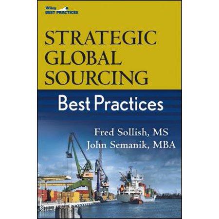 Strategic Global Sourcing Best Practices - eBook (Strategic Sourcing Best Practices)
