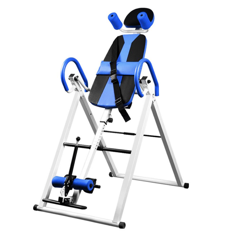 Recsoul Back Inversion Tables 330 lbs Capacity, Heavy Duty Foldable Inversion Table With Adjustable Head Rest, Protective Belt