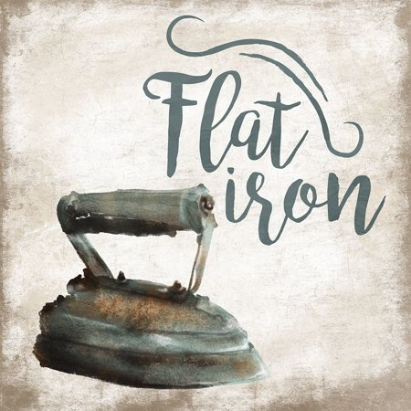 Flat Iron Poster Print by Jace Grey (12 x 12)