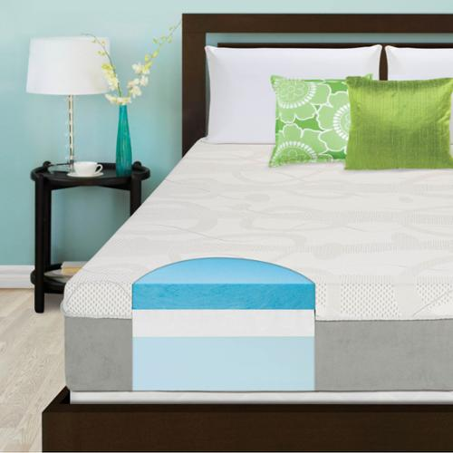Slumber Solutions Choose Your Comfort 12-inch Twin-size Gel Memory Foam Mattress Firm