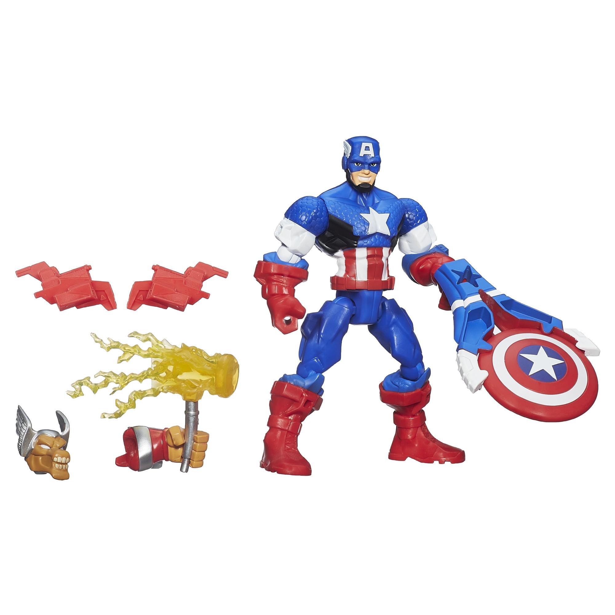 Marvel Super Hero Mashers Battle Upgrade Captain America Action Figure