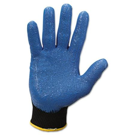 Jackson Safety G40 Nitrile Coated Gloves, Medium/Size 8, Blue, 12 Pairs -KCC40226