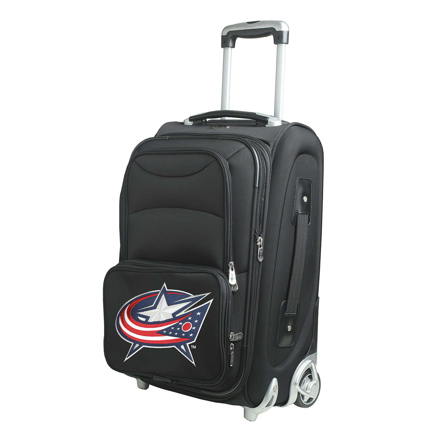 """Columbus Blue Jackets 21"""" Rolling Carry-On Suitcase - No Size"""