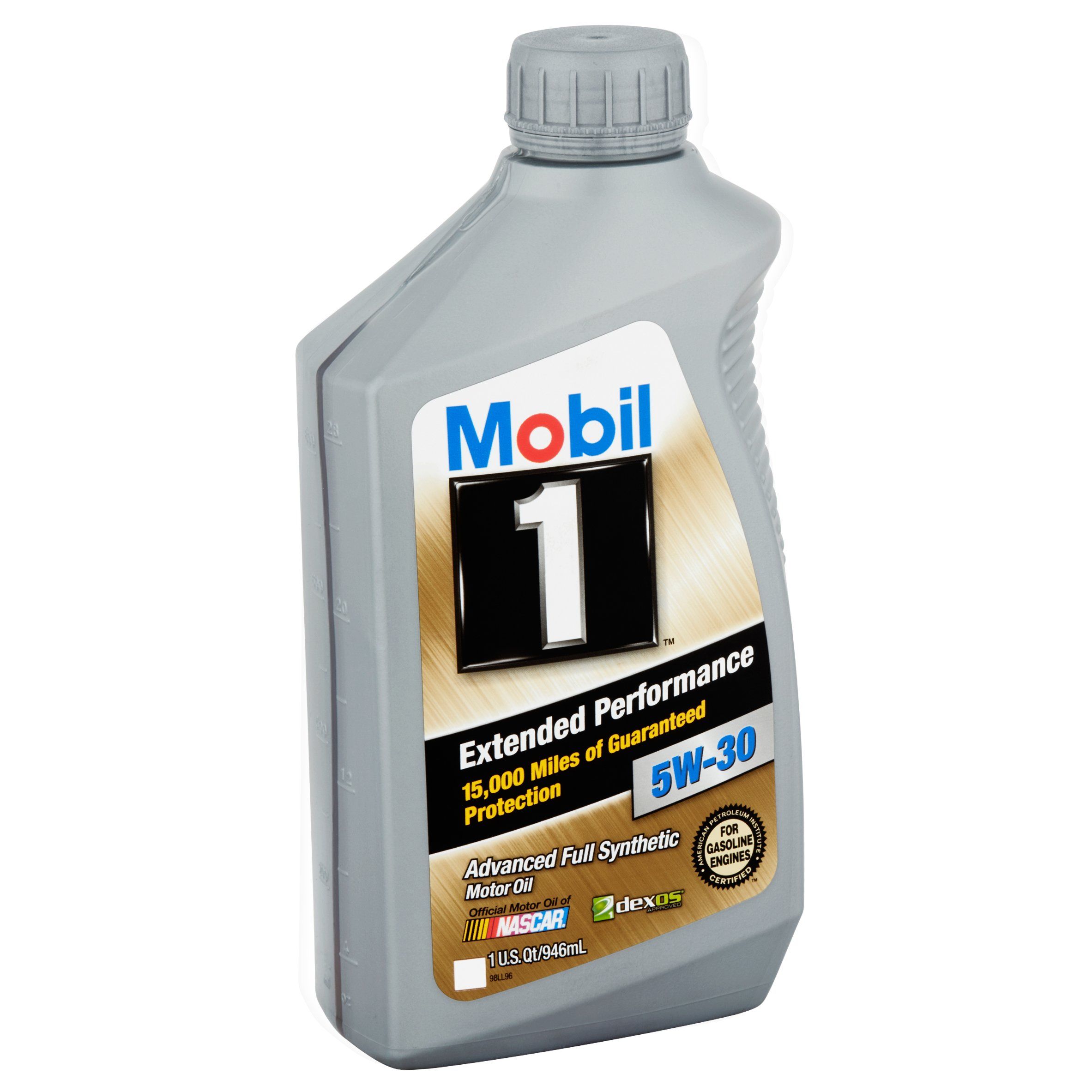 Mobil 1 5W-30 Extended Performance Full Synthetic Motor Oil, 1 qt.