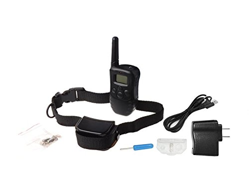 330 Yard Electric Remote Dog Training Collar Rechargeable Shock Collar by