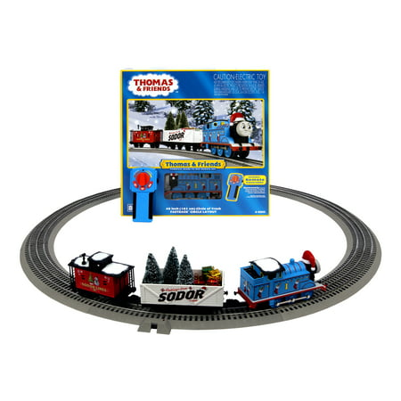Freight Electric Train Set (Lionel Thomas & Friends Christmas Freight Electric O Gauge Model Train Set with Remote and Bluetooth Capability)