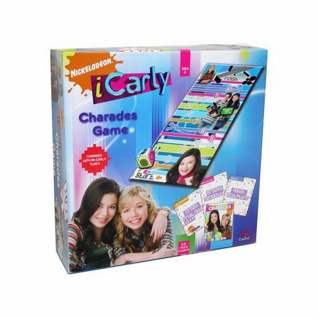 Nickelodeon iCarly Charades Game Wacky Act Out Fun
