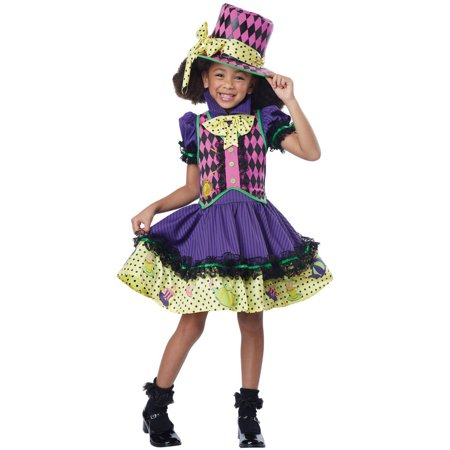 Mad Hatter Child Halloween Costume - Miss Mad Hatter Halloween Costume