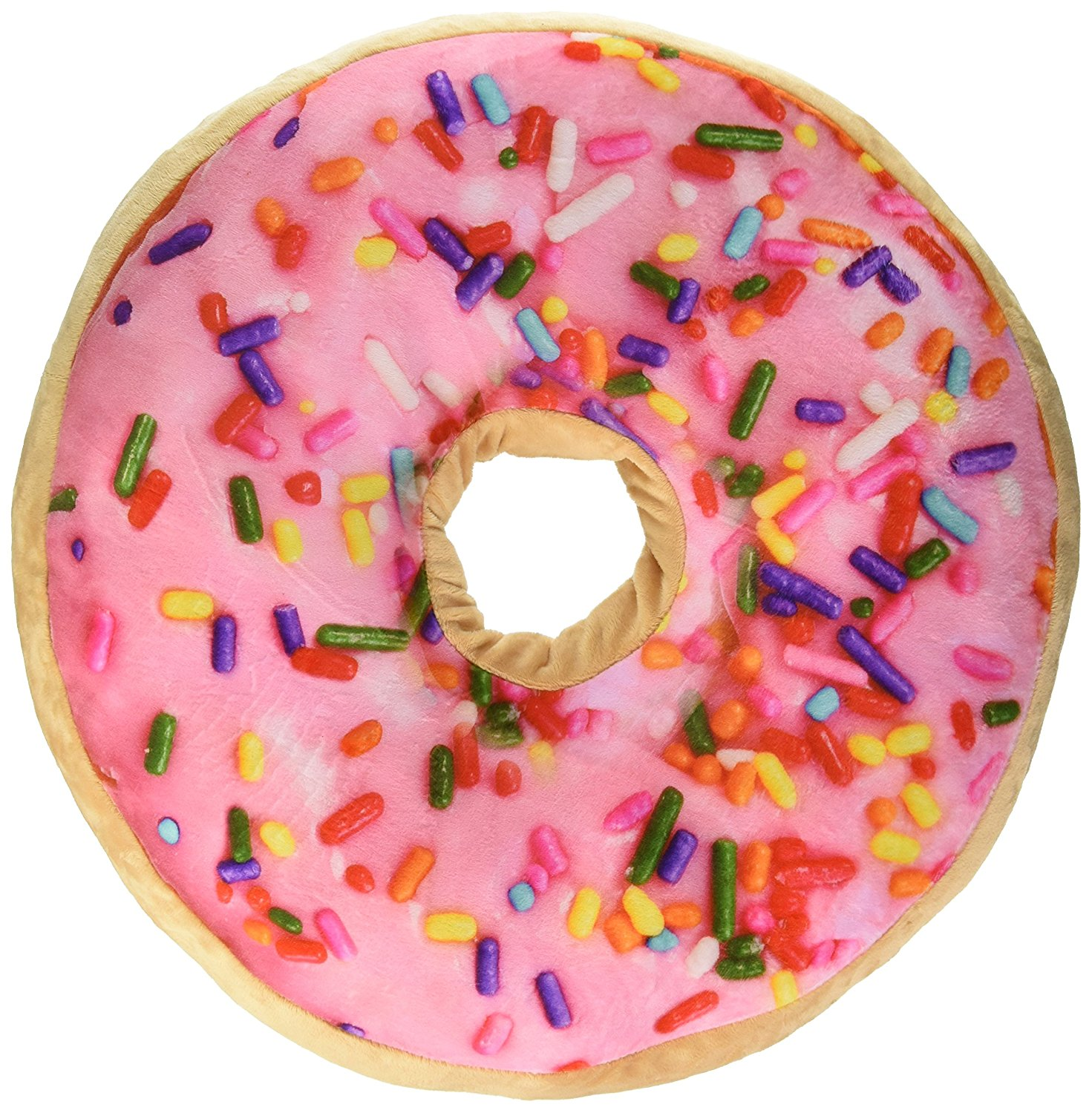 Scented Sprinkle Donut 16 Quot Pillow Strawberry Walmart Com