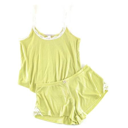 c951da97f26 Victoria s Secret Ribbed Cami Tank   Shorts Pajama Set - Walmart.com