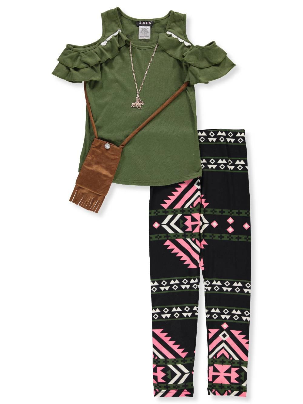 RMLA Girls/' 2-Piece Leggings Set Outfit