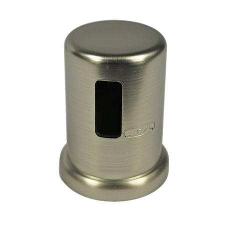 DANCO Kitchen Sink Deck Dishwasher Air Gap Cap, Brushed Nickel, 1-Pack  (10567)