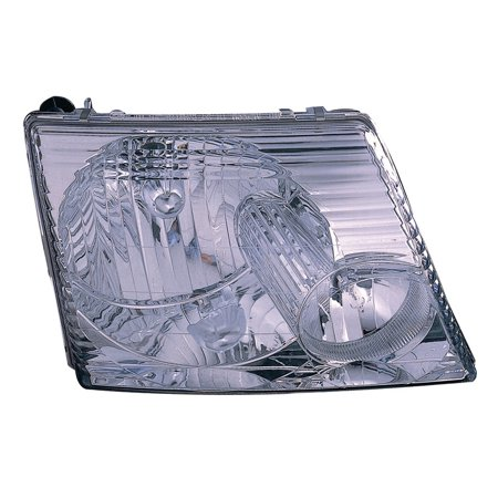 Replacement Passenger Side Headlight For 02-05 Ford Explorer 1L2Z13008AA