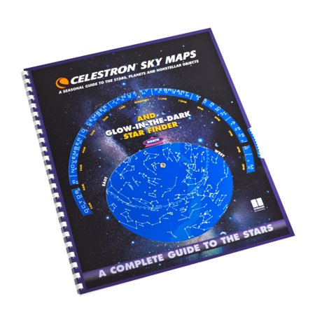 Celestron 93722 Sky Maps - Tells Which Constellations Are Up For Any Date or
