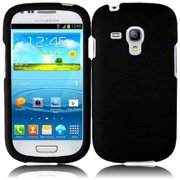 Hard Rubberized Case for Samsung Galaxy S3 Mini i8190 - Black