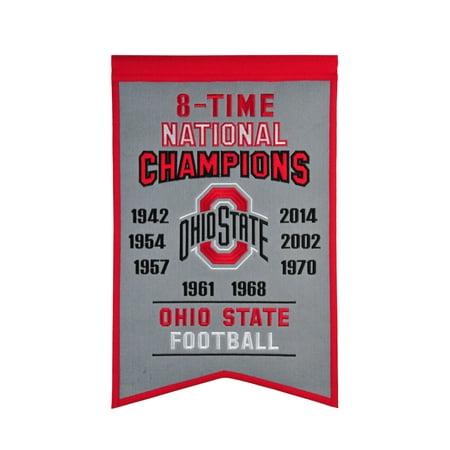 Winning Streak - NCAA Champions Banner, Ohio State