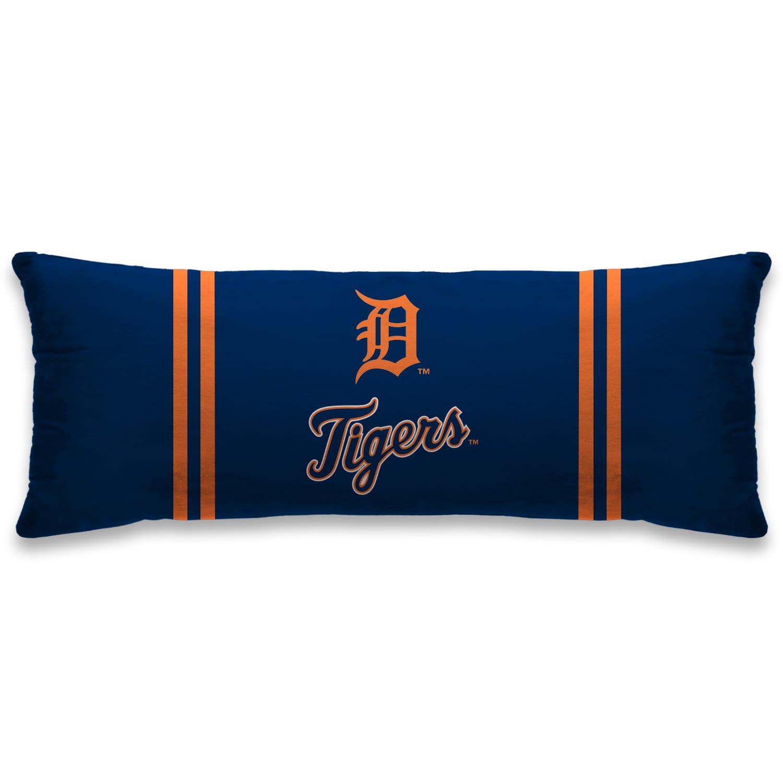 """Detroit Tigers 20"""" x 48"""" Plush Body Pillow - Blue - No Size"""