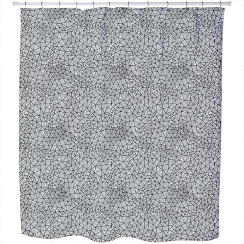 Uneekee Cell Structure Shower Curtain