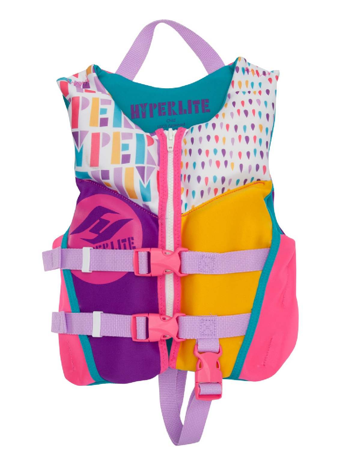 Hyperlite 2018 Girls Child Indy Kid's Life Jacket by Hyperlite