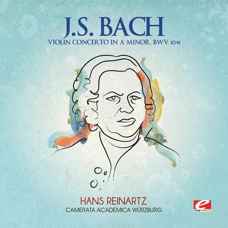 J.S. Bach - J.S. Bach: Violin Concerto in a Minor, Bwv (Bach Violin Concerto In A Minor 2nd Movement)