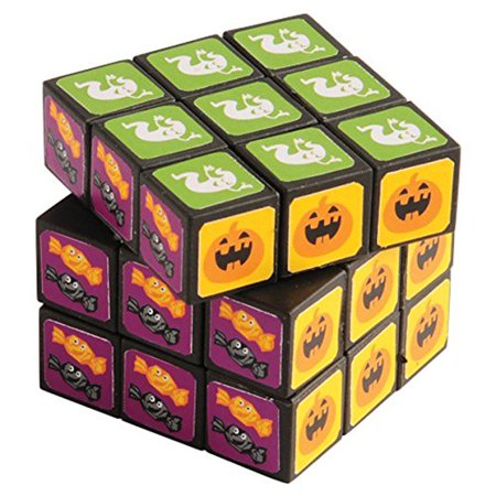 Lot Of 12 Halloween Themed Puzzle Rubik's Cubes