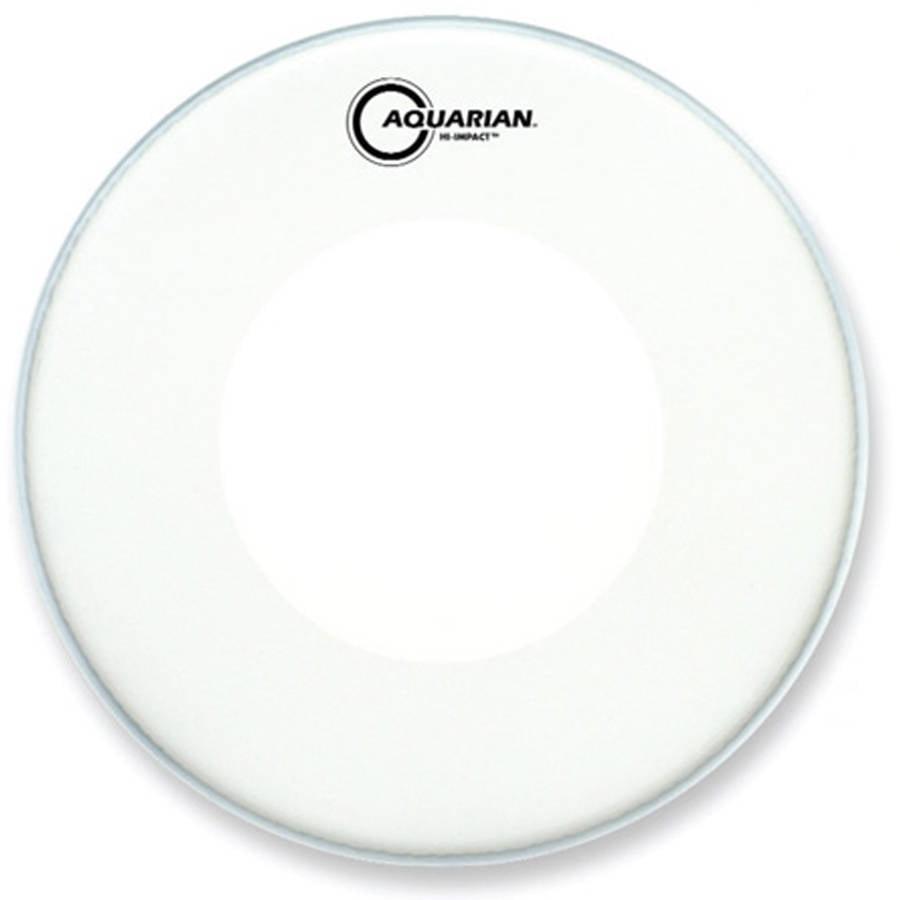 "Aquarian 14"" Hi-Impact Snare Drum Head White by Aquarian"