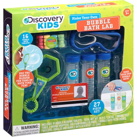 discovery kids make your own bubble bath. Black Bedroom Furniture Sets. Home Design Ideas