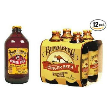 Ginger Beer Non-alcoholic Beverage (Australia) 12-pack 375ml, Pack of 12 375ml By Bundaberg