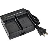 NP_45 Battery Charger AC Wall Dual for Fujifilm NP_45A NP...