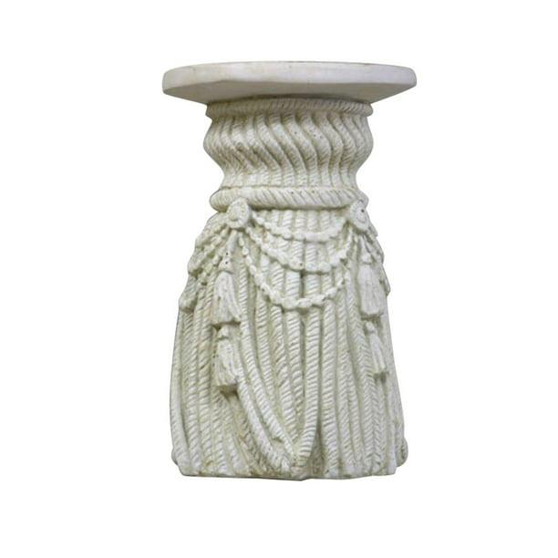 Tassel Pedestal 18 Pedestal Sculpture Walmart Com Walmart Com