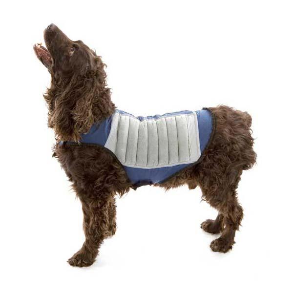 Cool K9 Dog Cooling Jacket Large Blue/Gray