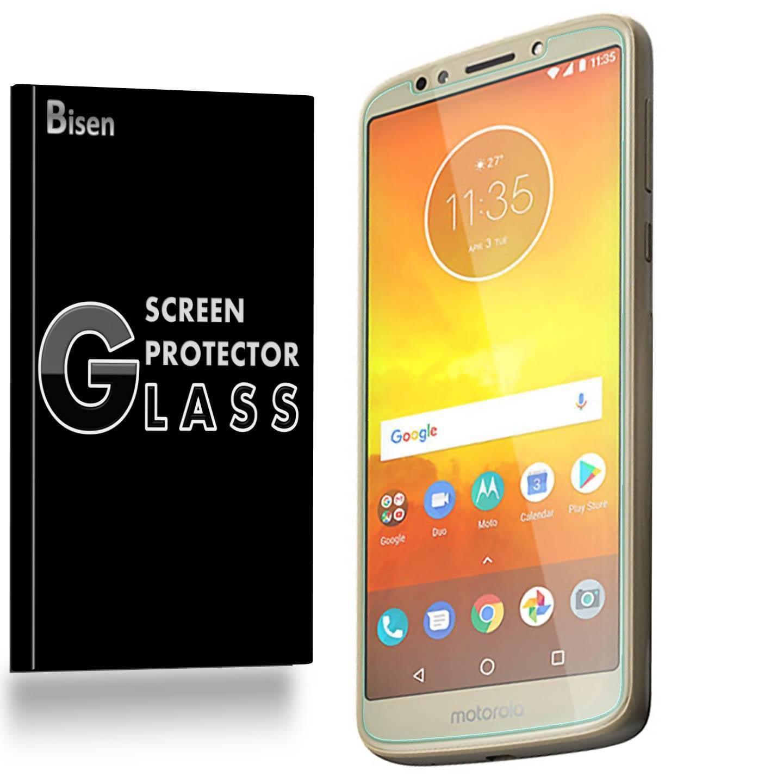 [2-Pack] Motorola Moto E5 BISEN Tempered Glass Screen Protector, Anti-Scratch, Anti-Shock, Shatterproof, Bubble Free
